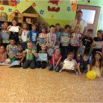 Rozloučení s předškoláky červen 2020